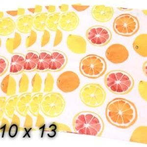 Other - (5) 10 x 13 Citrus Poly Mailers